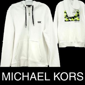 NWT Michael Kors Army Fatigue Hoodie